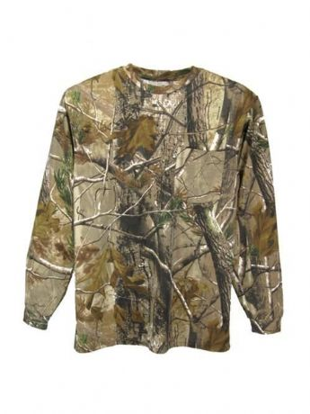 Realtree Mens Adults Long Sleeve T-Shirt Top Shooting Fishing New Warm RRP £25